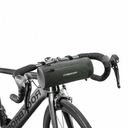 ROCKBROS Bicycle Handlebar Bag Extend Strap Waterproof Cylinder Bike Frame Bag